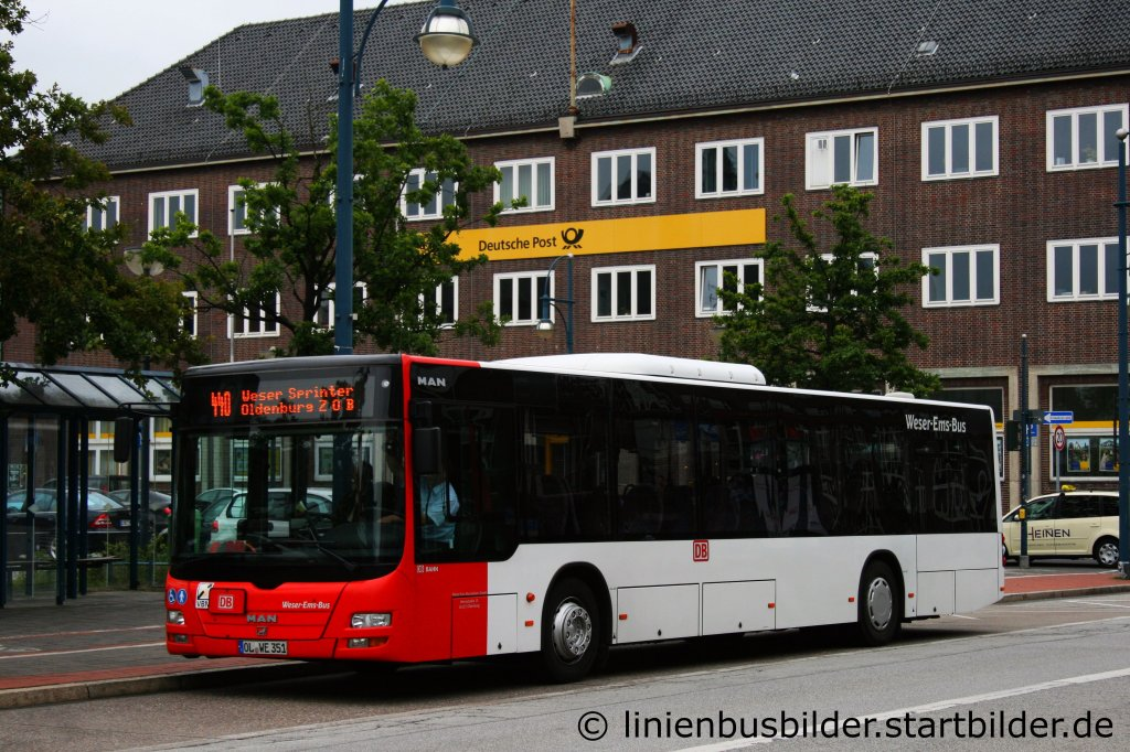 weser ems bus od we 351 aufgenommen am bremerhaven hbf 30 linienbusbilder. Black Bedroom Furniture Sets. Home Design Ideas