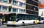 De Lijn/152264/de-lijn-550628aufgenommen-in-oostende-am de Lijn 550628. Aufgenommen in Oostende am 4.5.2011. Dieser Bus gehört einen Subunternehmer der im Auftrag von De Lijn fährt.