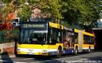 MAN Niederflurbus 2. Generation/142178/mvg-015-mh-vg-215-mit MVG 015 (MH VG 215) mit TB für das MVG Nachtnetz. Aufgenommen am HBF Mülheim/Ruhr, 13.10.2010.