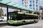 MAN Niederflurbus 2. Generation/165674/wiedenhoff-266der-bus-macht-werbung-fuer Wiedenhoff 266. Der Bus macht Werbung für Schmidt Haus.
