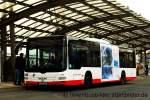 MAN Niederflurbus 3. Generation/176538/vestische-2050-mit-tb-fuer-das Vestische 2050 mit TB für das VRR Youngticket. Aufgenommen am HBF Recklinghausen, 18.1.2012