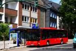 man-niederflurbus-3-generation-lions-city/162994/bvr-d-bv-2105aufgenommen-am-werdener BVR (D BV 2105). Aufgenommen am Werdener Markt, 30.5.2011.