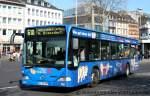 mercedes-benz-o-530-i-citaro/150028/sw-bonn-bn-sw-4167-mit SW Bonn (BN SW 4167) mit Werbung für Köttgen Hörakustik. Aufgenommen am HBF Bonn, 2.4.2011