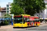 mercedes-benz-o-530-i-citaro/162950/evag-3408-mit-sparkassen-werbungaufgenommen-am EVAG 3408 mit Sparkassen Werbung. Aufgenommen am Karlsplatz in Essen Altenessen, 23.5.2011.
