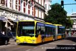 mercedes-benz-o-530-i-citaro/162955/evag-4503-mit-werbung-fuer-das EVAG 4503 mit Werbung für das Fahrradies in Essen. Aufgenommen in Essen Steele am, 23.5.2011.