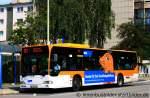 mercedes-benz-o-530-i-citaro/170097/evag-3410er-wirbt-mit-der-maus EVAG 3410. Er wirbt mit der Maus für den WDR. Aufgenommen an der Martinstr. 15.8.2011.
