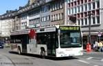 mercedes-benz-o-530-ii-citaro-facelift/128823/wiedenhoff-277-gl-gw-277der-bus Wiedenhoff 277 (GL GW 277). Der Bus macht Werbung für Raumfaktum Rheinland. Aufgenommen auf der Kölnerstr. am 19.3.2011.