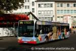 mercedes-benz-o-530-ii-citaro-facelift/174833/swb-1002-mit-sehr-farbenfroher-werbung SWB 1002 mit sehr Farbenfroher Werbung für Küpper Bonn. Aufgenommen am HBF Bonn, 2.10.2011.