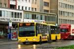 mercedes-benz-o-530-ii-citaro-facelift/176499/evag-4675-ist-mit-der-linie EVAG 4675 ist mit der Linie 147 auf den Weg nach Haarzopf. Aufgenommen am Viehofer Platz,6.1.2012.