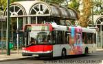 Solaris Urbino/171909/rheinbahn-8011der-bus-steht-hier-an Rheinbahn 8011. Der Bus steht hier an der Vennhauser Allee in Düsseldorf.