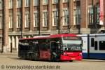 3490/170923/connexxion-3490-kommt-mit-der-linie Connexxion 3490 kommt mit der Linie 92 am Bahnhof Amsterdam Central an. Nach kurzen stop geht es weiter nach Zaandam. Aufgenommen am 15.9.2011.