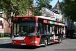 aachen/123526/aseag-215-ac-l-857-wirbt ASEAG 215 (AC L 857) wirbt für Weyers Kaatzer. Aufgenommen in Aachen Stadtmitte, 4.6.2010.