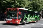 aachen/123527/aseag-216-ac-l-867-wirbt ASEAG 216 (AC L 867) wirbt für ASTA-FH Aachen. Aufgenommen in Aachen Stadtmitte,, 4.6.2010.