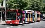 aachen/123535/aseag-244-ac-l-554-wirbt ASEAG 244 (AC L 554) wirbt für die Mayersche Buchhandlung. Aufgenommen in Aachen Stadtmitte, 4.6.2010.