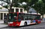 aachen/170531/sadar-44-mit-der-linie-11der Sadar 44 mit der Linie 11. Der Bus wirbt für Freddy Geron. Aufgenommen am Luisenbrunnen in Aachen, 17.08.2011.